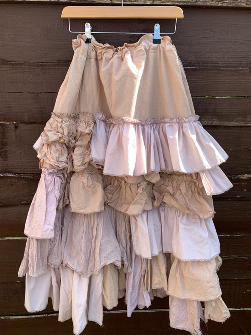 Ready to Ship Beige Carmella Skirt One Size