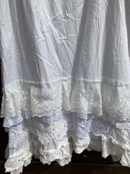 Ready to Ship Suzan Lace Petticoat Skirt F/S
