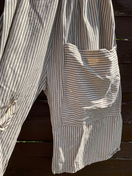 Ready to Ship Ticking Stripe Pocket Pants