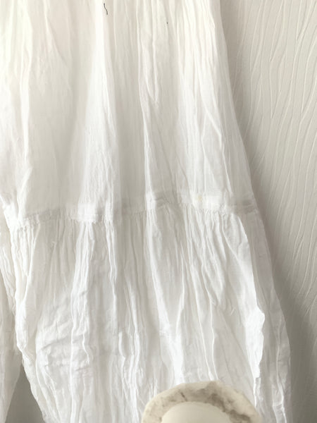 White Gauze Cotton Bloomers Free Size