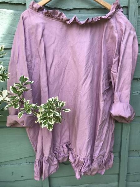 Saffy Clover Linen Top