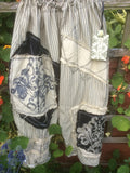 Fallen Angel Handprinted Gothic Bloomers. RitaNoTiara Southern Gothic