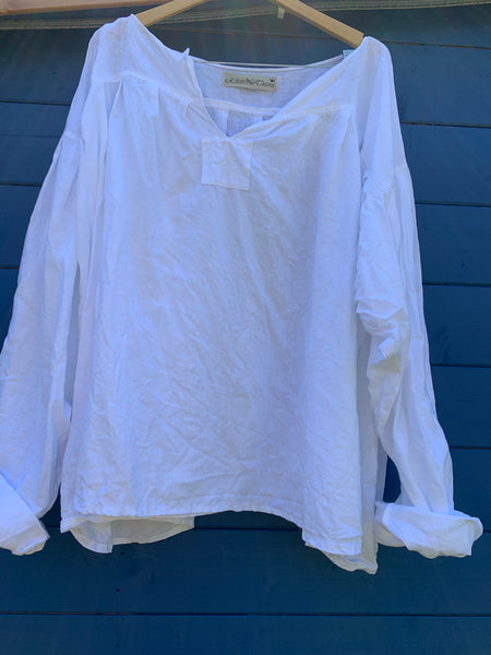Ready to Ship The Ultimate White Linen Shirt