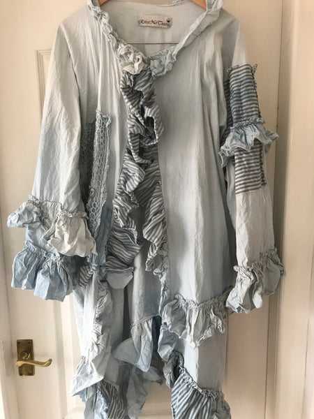 Eadie Embroidered Festival Coat
