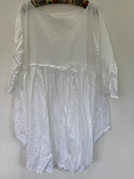 Ready to Ship May White Voile Dress One Size