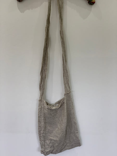 Ready to Ship  Massive Homespun Linen Bag