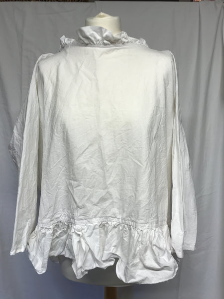 tie back top Irene pure cotton RitaNoTiara Southern Gothic Couture