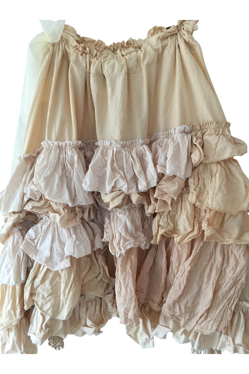 Ruffle Knee Length Skirt RitaNoTiara