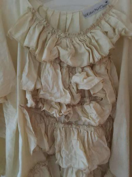 Flannery Ruffle Cotton Top