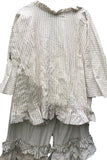 Lane Ballou Saffy Stripe Linen Shirt