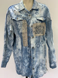 Ready to Ship Cherub Vintage Denim Jacket Free Size