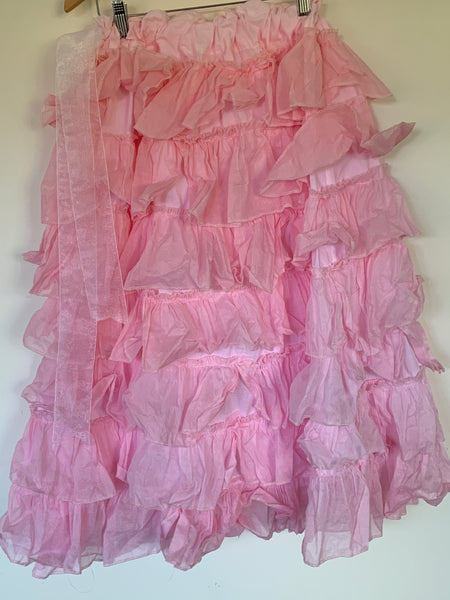 Villanelle Cotton Organdie Frilly Skirt