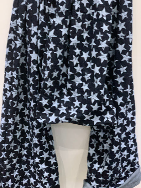 Ready to ship Denim Star Print Harem Pants