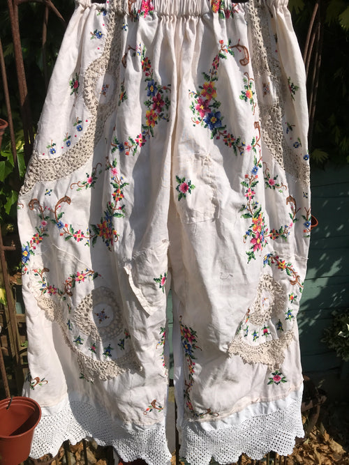 Southern Gothic Embroidered Bloomers