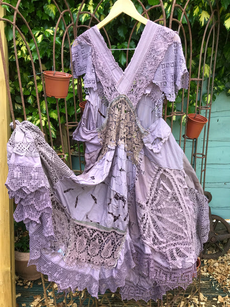 Helena Lace Pinafore Dress