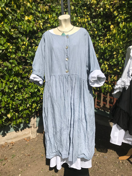 Ready to Ship Linen Louise Coat One Size