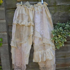 Cream Lace French Knickers