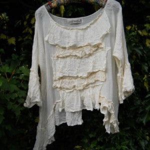 Boxy Hand Dyed Cotton Top