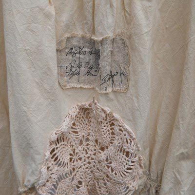 Artist Calligraphy shirt RitaNoTiara Southern Gothic Couture boho chic