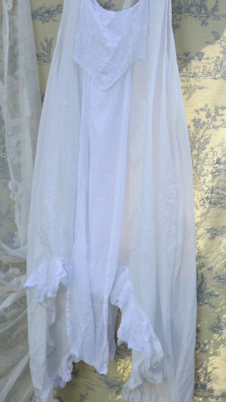 Paulette Voile Frilly Dress