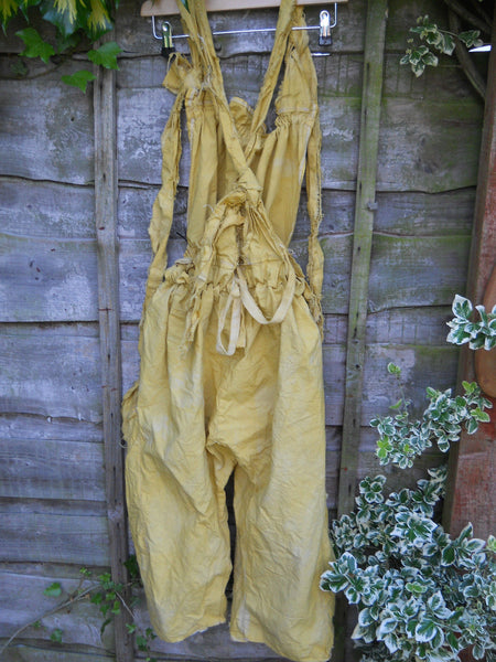 Linen Oversized Dungarees