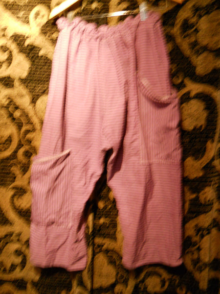 stripey pirate trousers Funky Lagenlook RitaNoTiara Southern Gothic