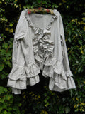 Steampunk Bustle Suit Whitby RitaNoTiara Southern Gothic Couture goth