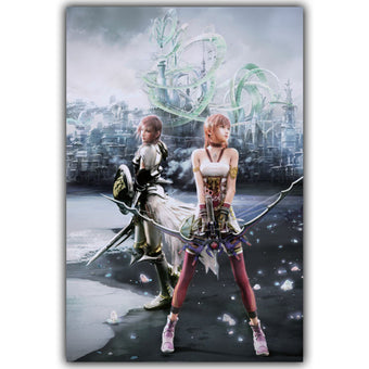 Final Fantasy XIII-2 Video Games Poster - Multiple Styles and Sizes