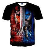 World of Warcraft Hardcore Men's Cotton Short Sleeve T-Shirts -7 Versions
