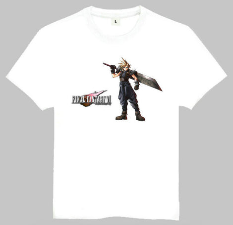 Final Fantasy VII Character T-shirts - Multiple Styles and Sizes