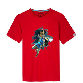 The Legend of Zelda: Breath of the Wild cotton t-shirt