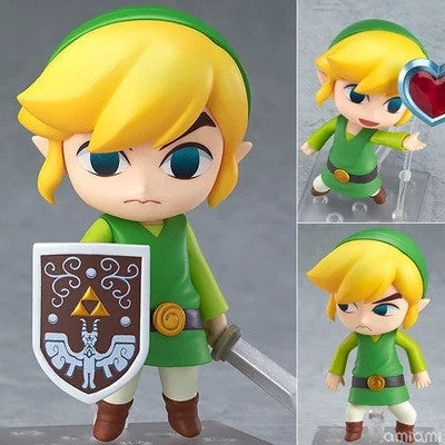The Legend of Zelda Link the Wind WakerPVC Action Figure Collectible Model Toy 4""