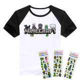 Children's TNT Minecraft themed Short Sleeve T-Shirt