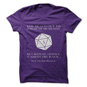 Funny Failure Dice Roll Dungeons And Dragons Cotton Tees T-Shirt