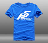 Persona 5 Short-sleeve Cotton Tees Tops
