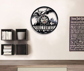 Final Fantasy II Art Vinyl Wall Clock