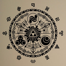 Gate Of Time Legend of Zelda Wall Sticker Vinyl Decal