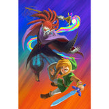 The Legend of Zelda Hero of Time Link Bedroom Wall Poster - Assorted Styles and Sizes