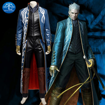Men's Devil May Cry III 3 Virgil Cosplay Costume
