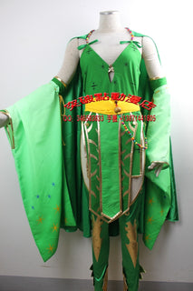 Final Fantasy IV Adult Rydia Cosplay Costume