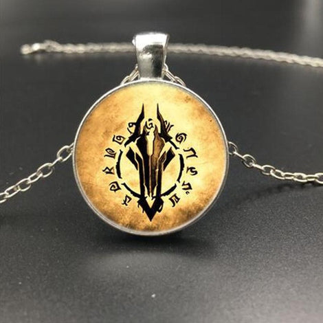 World of Warcraft Medallion Necklaces - 6 Styles to Choose From