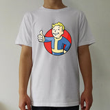 Fallout Vault Boy Logo T shirt men