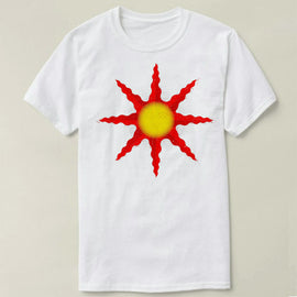 Dark Souls Praise the Sun summer cotton short sleeve t-shirt