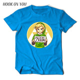 I'm Not Zelda!! Printed T Shirts 100% Cotton Short Sleeve Clothes Funny Tops Tees