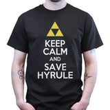 Keep Calm And Save Hyrule Zelda T Shirt