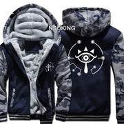 Legend of Zelda Sheikah Eye Symbol Casual Jacket Sweatshirt Hoodie