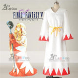Final Fantasy White Mage Cosplay Costume