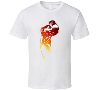 Final Fantasy VIII Squall and Rinoa Video Game T-Shirt