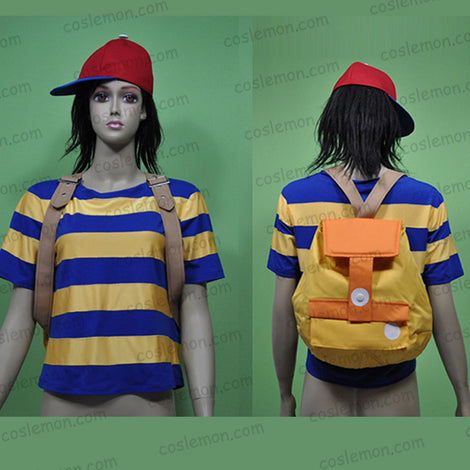 Earthbound Mother 2 Ness Cosplay Costume Halloween