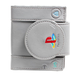 Playstation Console Shaped Bifold Leather Wallet